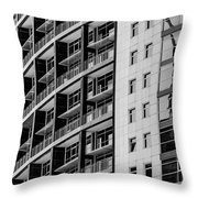 Skyscraper Detail Throw Pillow