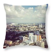 Sky'sthe Limit Throw Pillow