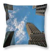 Skytops Manhattan Throw Pillow