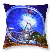 Skyview Atlanta Throw Pillow