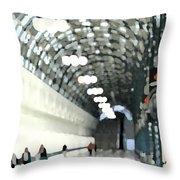 Skywalk Throw Pillow