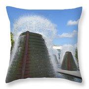 Skyward Water Throw Pillow