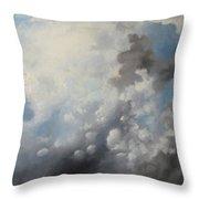 Skywards Throw Pillow