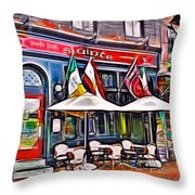 Slainte Irish Pub And Restaurant Throw Pillow