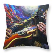 Slash Throw Pillow