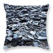 Slate Throw Pillow