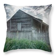 Slave Cottage Throw Pillow