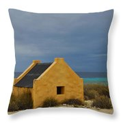 Slave Huts Throw Pillow