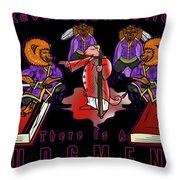 Slay The Serpent  Throw Pillow