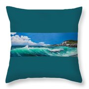 Slea Head Co Kerry Dingle Throw Pillow