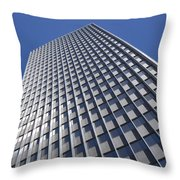 Sleek And Silver Throw Pillow