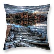 Sleep Canoes Warrenton Va 2012 Throw Pillow