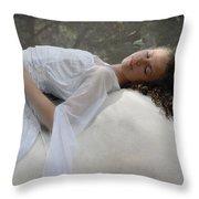Sleep Of Innocents Throw Pillow