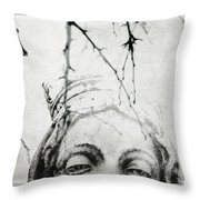 Sleep Walk Throw Pillow