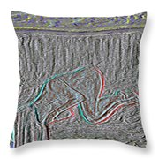 Sleeper 2 Throw Pillow