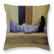 Sleeper Throw Pillow