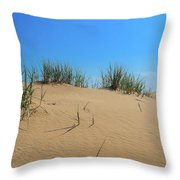 Sleeping Bear Sand Dunes Throw Pillow