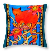 Sleeping Beauty By Dora Hathazi Mendes Throw Pillow