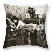 Sleeping Beauty, C1900 Throw Pillow