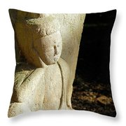 Sleeping Buddah  Throw Pillow