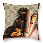 Sleeping I Throw Pillow