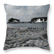 Sleeping It Off Throw Pillow