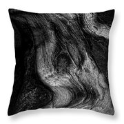 Sleeping Rocks Throw Pillow