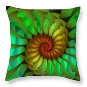 Sleeping Spring Throw Pillow