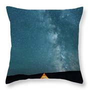 Sleeping Under The Stars Throw Pillow