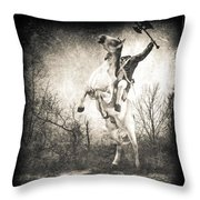 Sleepy Hollow Headless Horseman Throw Pillow