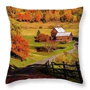 Sleepy Hollow - Pomfret Vermont-2 Throw Pillow