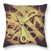 Slices Of Autumn Throw Pillow