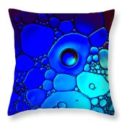 Slide Into A World  Throw Pillow