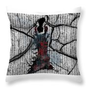 Slients Throw Pillow