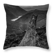 Slievenaglogh To Ben Crom. Throw Pillow