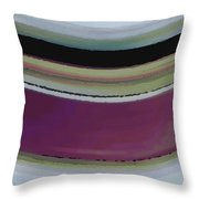Slight Curve Throw Pillow