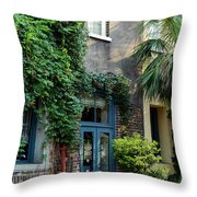 Slightly North Of The Broad Throw Pillow