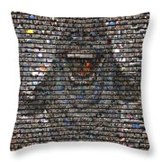 Slimer Mosaic Throw Pillow