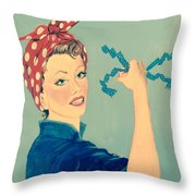 Sling The Mesh Throw Pillow