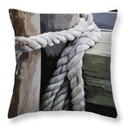 Slip Knot Throw Pillow