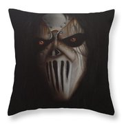 Slipknot #7 Throw Pillow