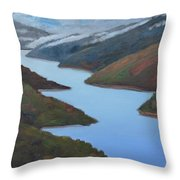 Sliver Of Crystal Springs Throw Pillow