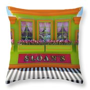 Sloans Throw Pillow