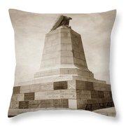 Sloat Monument On The Presidio Of Monterey Circa 1910 Throw Pillow