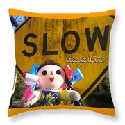 Slow Despacito Throw Pillow