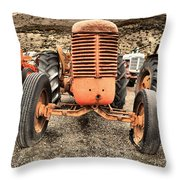 Slow Rural Decay Throw Pillow