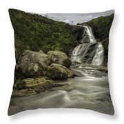Slow Waters Throw Pillow