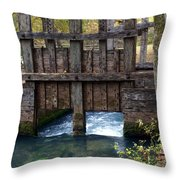 Sluce Gate Throw Pillow