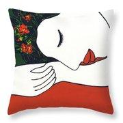 Slumber #204 Throw Pillow