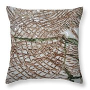 Slumbering - Tile Throw Pillow